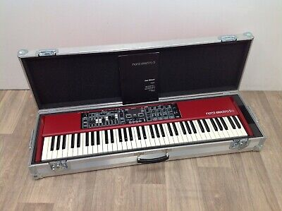 Nord Electro 5D SW73 Stage Keyboard, INC: Flight Case, Serial No: EM13922