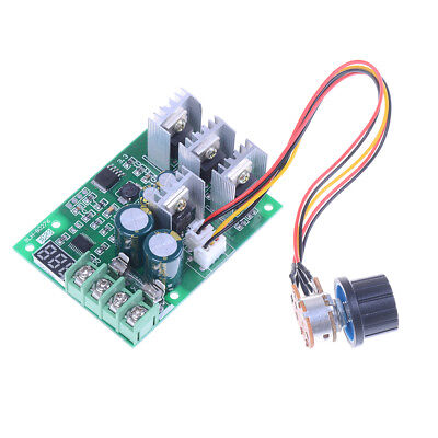 PWM  DC6-60V 30A Motor Speed Controller Module Dimmer Current Display ME