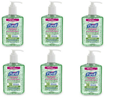 Purell Hand Sanitizer with Refreshing Aloe 8 oz - 6 pack!