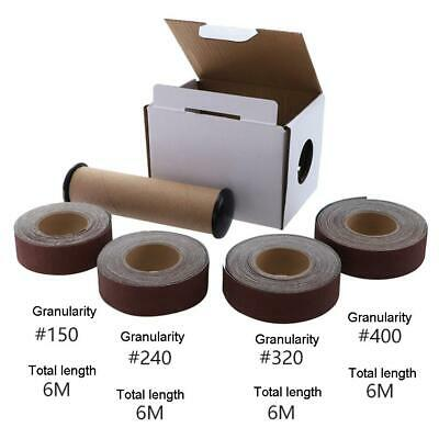 1 Box Sanding Belt Drawable Emery Cloth Sandpaper Wood Grinding Roll Belts Tools