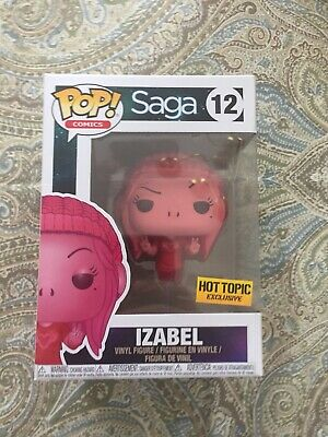 funko pop vinyl Izabel Saga Hot Topic Exclusive