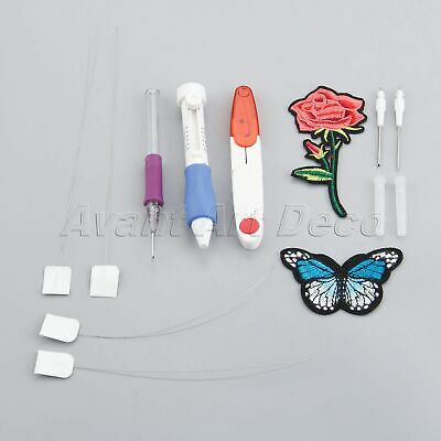 Sewing Tool Sets Embroidery Pen Punch Needle Kits DIY Sewing For Women Home