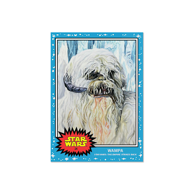 Topps SW Living Set Card #24 - Wampa The Empire Strikes Back