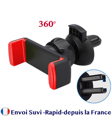 Gravité Voiture Air Vent Mount Cradle Holder iPhone Mobile Téléphone support 360