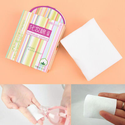 50Pcs Cosmetic Cotton Pad Lint Free Facial Eye Cleansing Makeup Remover Tool ME