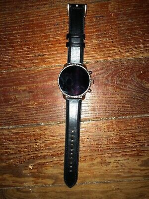 Fossil Smart Watch Model DW6F1 Black Band As Is