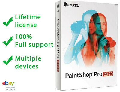 Corel PaintShop pro 2020 ☑ Activated Lifetime ☑ Multiple Devices ☑