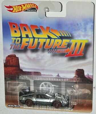 Back To The Future 111 - 1955 Delorean Railway Car Hot Wheels Premium Scale 1/64