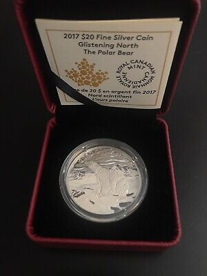 Royal Canadian Mint $20 Silver Coin