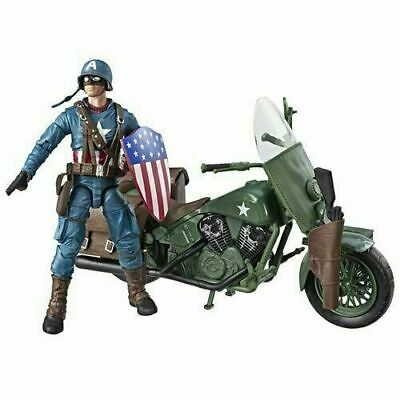 Marvel Legends Series Captain America With Motorcycle Action Figure E4704 *NIB