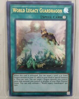 World Legacy Guardragon Ultra Rare SAST-EN062 Near-Mint Unlimited