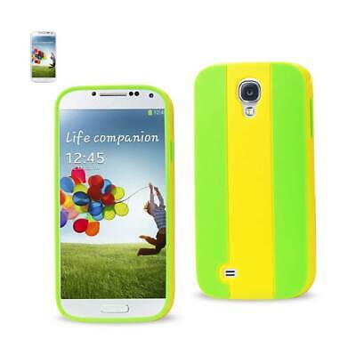 Reiko Samsung Galaxy S4 Striped Case In Yellow Green