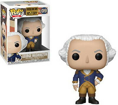 History - George Washington - Funko Pop! Icons: (2019, Toy NEUF)