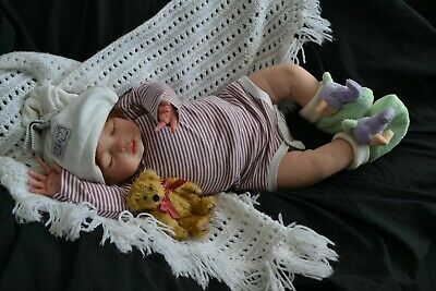 Sweet Reborn Baby GIRL Doll HANNAH was Amber by Pat Moulton COMPLETED
