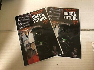 ONCE AND FUTURE (2019 Boom Studios) #1 1st Print NM+ Gillen HOT Comic Book