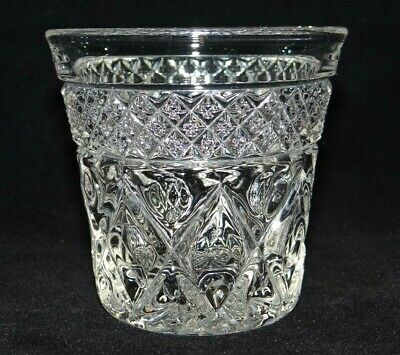 Imperial Glass Ohio CAPE COD Clear Crystal Bourbon Whiskey Shot Glass Pressed