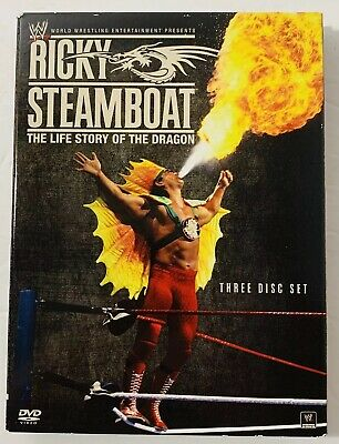 WWE: Ricky Steamboat  The Life Story of the Dragon  DVD  2010  3 Disc Set