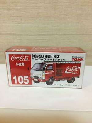 Tomica Coca-Cola route truck made in Japan