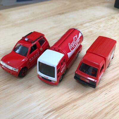 Tomica Pajero fire truck Coca-Cola Northumberland Post Office
