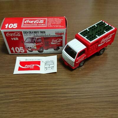 Tomica 105 Coca-Cola route truck made in Japan