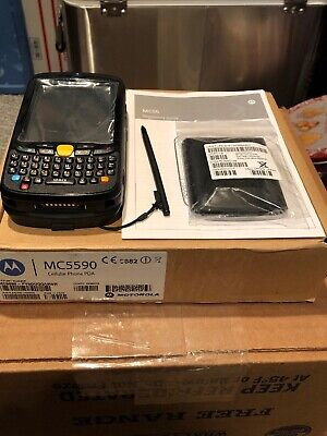 SYMBOL N410 BARCODE Scanner with Charger Power Cord & Bag