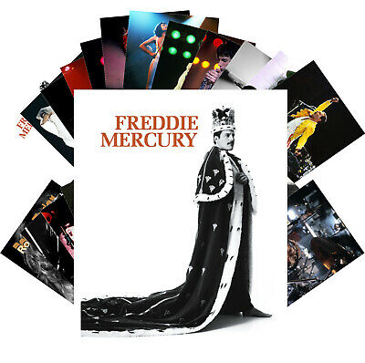 QUEEN / FREDDIE MERCURY / ROGER TAYLOR Postcards (24 card) Photo Poster 1233