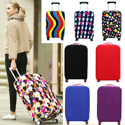 Travel Luggage Cover Protector Elastic Suitcase Dustproof Bag Anti Scratch Gift