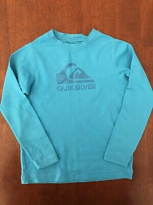 Quicksilver Toddler Long Sleeve Rashie Size 2 EUC
