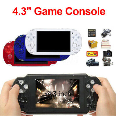 8GB Handheld PSP Game Console Player Built-in Games 4.3'' Portable Consoles USB