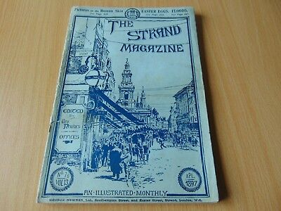 SCARCE 19th CENTURY 1897 STRAND MAGAZINE HUMAN SKIN PICTURES TATTOES SIDE SHOWS