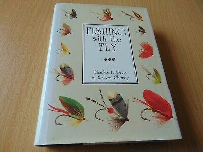 SCARCE H/B BOOK 1989 FIRST EDITION FISHING WITH THE FLY ORVIS salmon trout