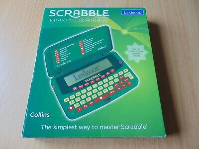 Collins Lexibook Official Electronic Scrabble Dictionary Pocket Travel Size