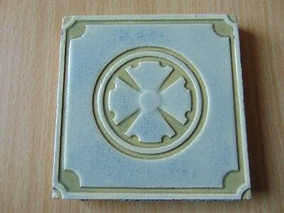 ANTIQUE VICTORIAN 19th CENTURY CERAMIC TILE MAW & CO