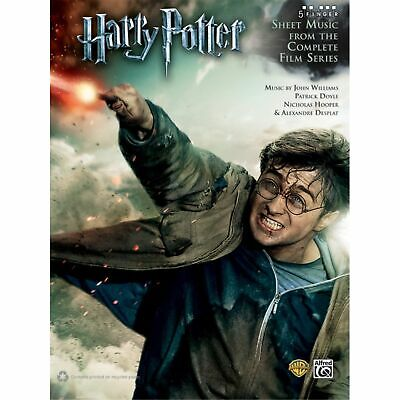 Harry Potter: Sheet Music from the Complete Film Series 00-39073