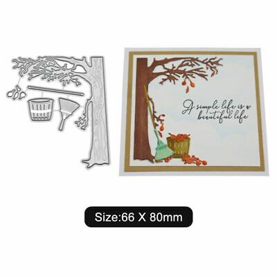 Autumn Metal Cutting Dies Stencil Scrapbooking Album Paper Card DIY Craft Decor