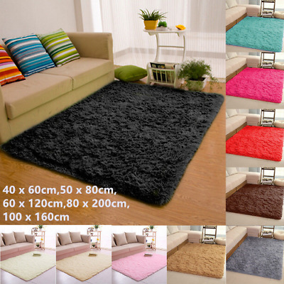 Large Shaggy Rugs Floor Carpet Living Room Bedroom Area Rugs Soft Mat Home Decor