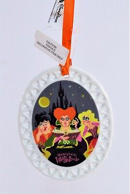 Disney 2019 Mickeys Not So Scary Halloween Party Hocus Pocus Ornament NEW CUTE
