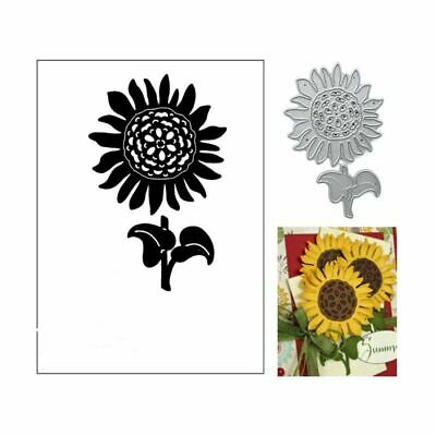 Sunflower Metal Cutting Dies Stencil Scrapbooking Album Paper Card Embossing DIY
