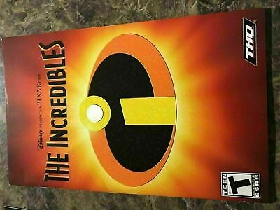 Incredibles - Playstation 2 Ps2 - Instruction Manual Only