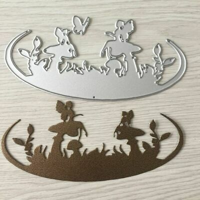 Mushroom Fairy Cutting Dies Stencil Scrapbooking Embossing Album DIY Paper Card