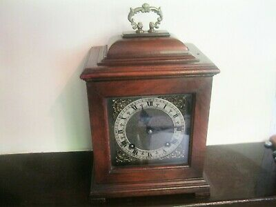 Garrards 8 day mantle carriage clock .Chimes hour and half hour . Working order,