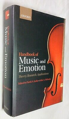 JUSLIN: HANDBOOK OF MUSIC AND EMOTION, OUP, 1st, 2010, Nr Fine in dustjacket