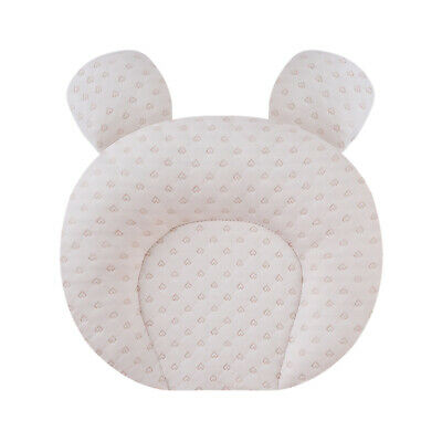 Baby Infant Newborn Prevent Flat Head Neck Syndrome Anti Roll Support Pillow AU