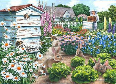 The House Of Puzzles - 500 BIG PIECE JIGSAW PUZZLE - Honey Bunnies Big Pieces