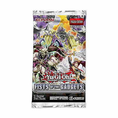 YuGiOh! FISTS OF THE GADGETS FIGA - CHOOSE YOUR SECRET AND SUPER RARE CARDS