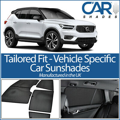 Volvo XC40 5dr 2018> UV CAR SHADES SUN UK WINDOW SUN BLINDS PRIVACY GLASS TINT