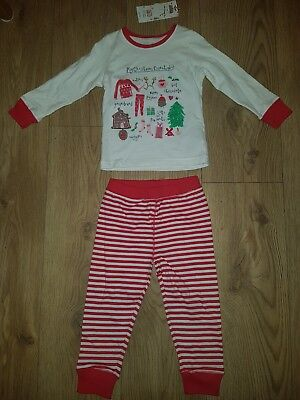 Mothercare Christmas Girls Pyjama 12-18 months NEW Xmas