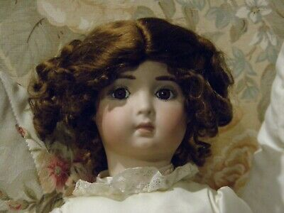 Beautiful Doll Artist Made Antique Repro Bisque Face Composition Body.