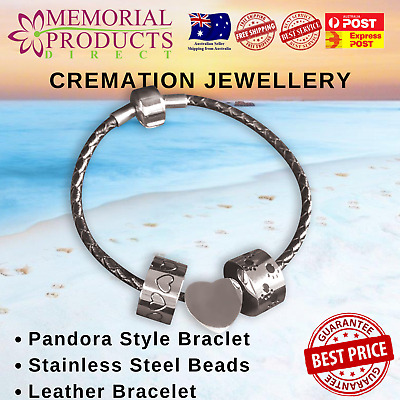 Cremation Jewellery - Bracelet with Beads