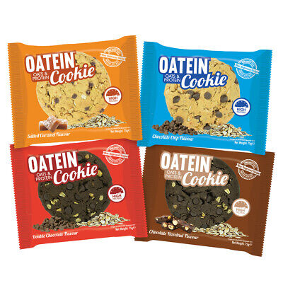 Oatein Soft & Chewy High Protein Cookie (12 x 75g) 17g Protein